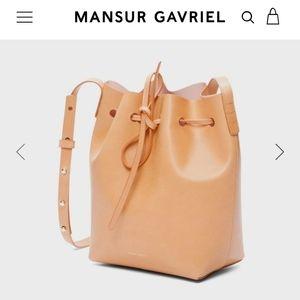 Mansur Gavriel Bucket bag *not much left in stock from supplier*